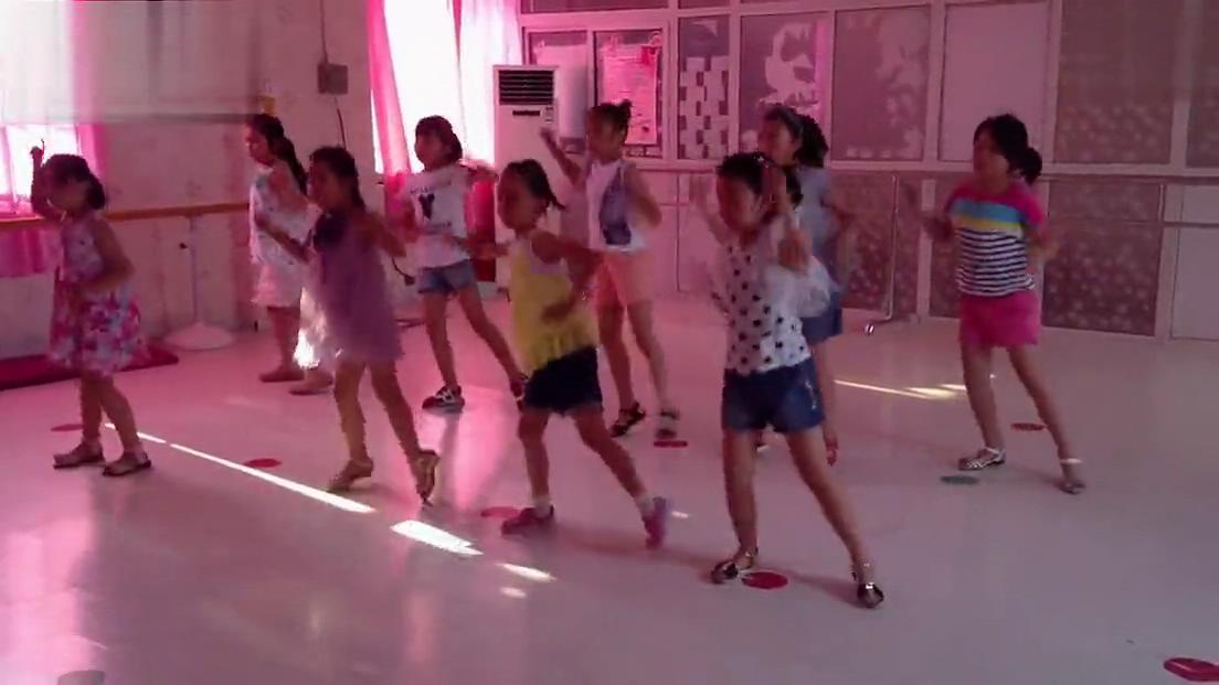小苹果舞蹈教学少儿舞蹈