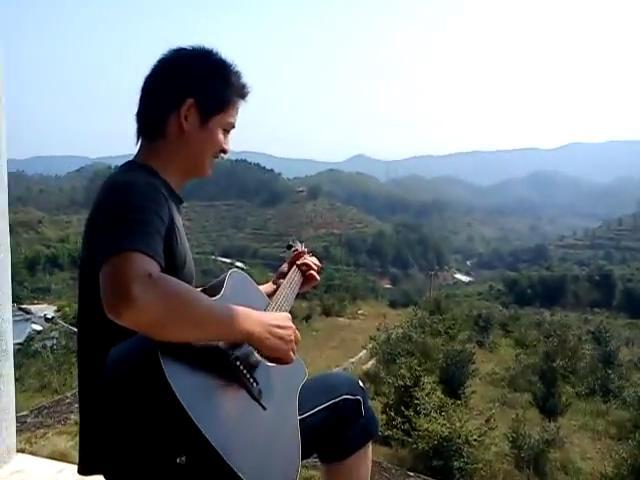 吉他弹唱视频《外面的世界》吉他入门歌曲