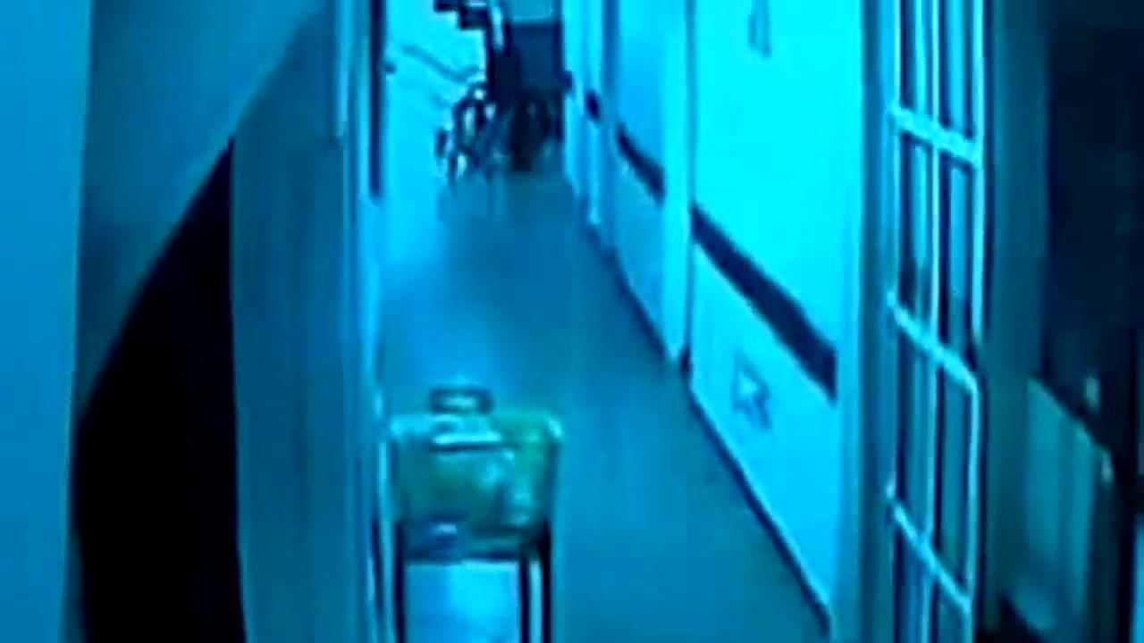 灵异事件大全 灵异档案 国外医院真实灵异视频监控 高清