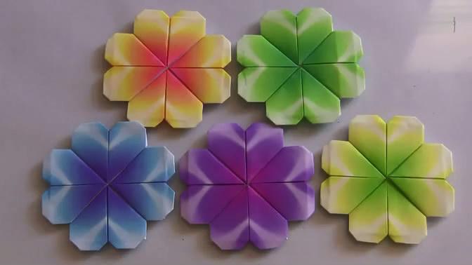 折纸教程-花蝴蝶折法 折纸大全