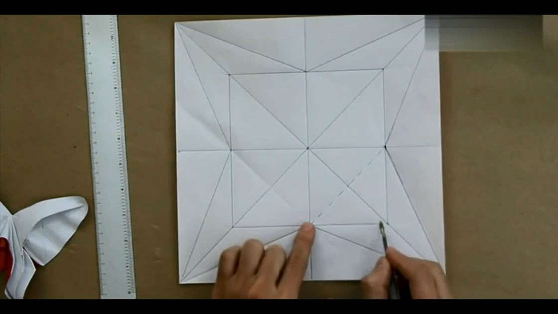 动物折纸大全教程蝴蝶折法图解