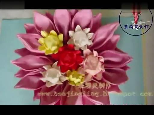 手工制作超漂亮的纸餐巾莲花