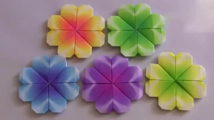 折纸大全 时尚diy 折纸大全图解 手工制作玫瑰花.
