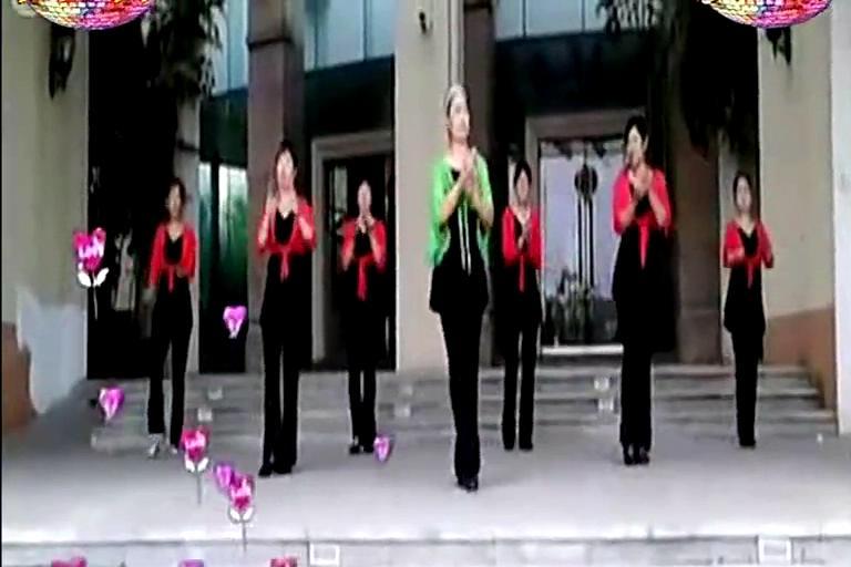 广场舞教学 广场舞 十六步