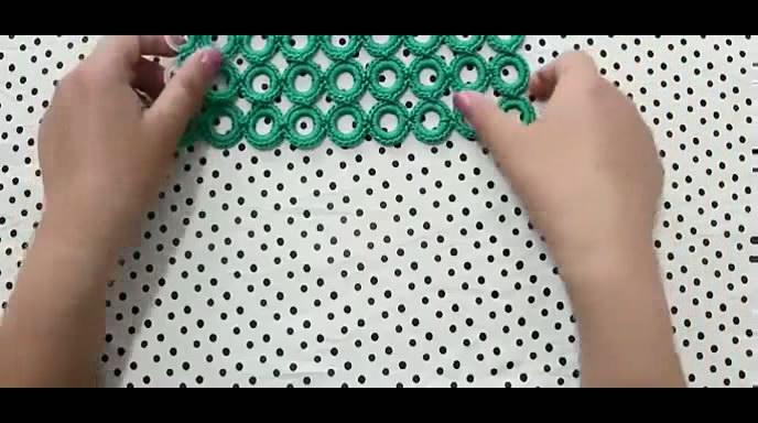 钩针编织包包 钩包视频