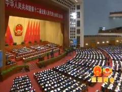 十二届全国人大三次会议举行第三次全体会议