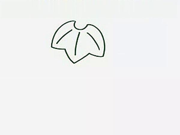 儿童简笔画教程:鲨鱼